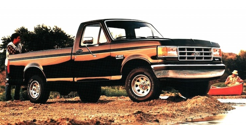 Ford F-Series USA 1989