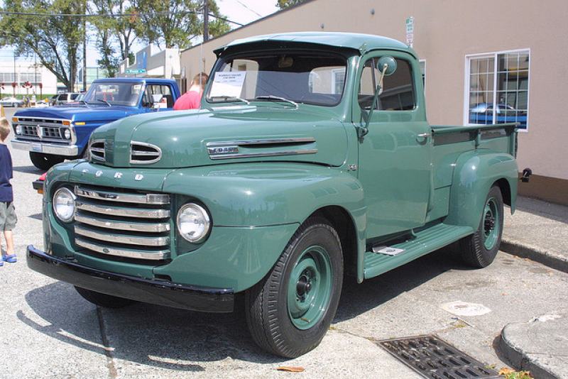 jpeg 1949 ford pickup ford f3 pickup sold http www woolcockantiqueauto ...
