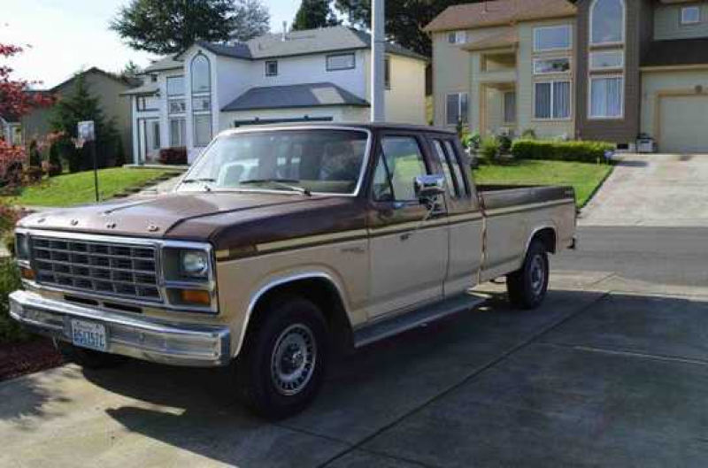 1981 Ford F-150 Ranger Explorer Extended Cab, 8 Ft. Bed Pu