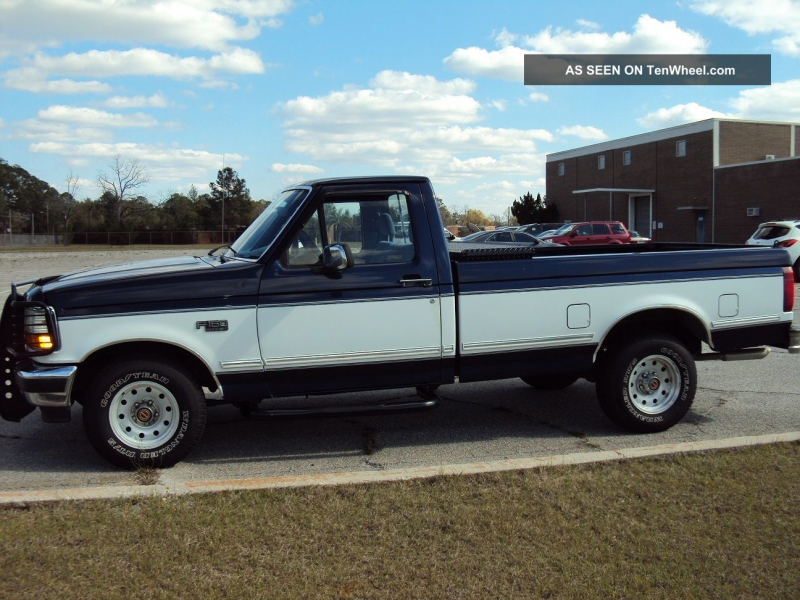 1994 Ford F - 150 Xlt Standard Cab Pickup 2 - Door 5. 0l F-150 photo