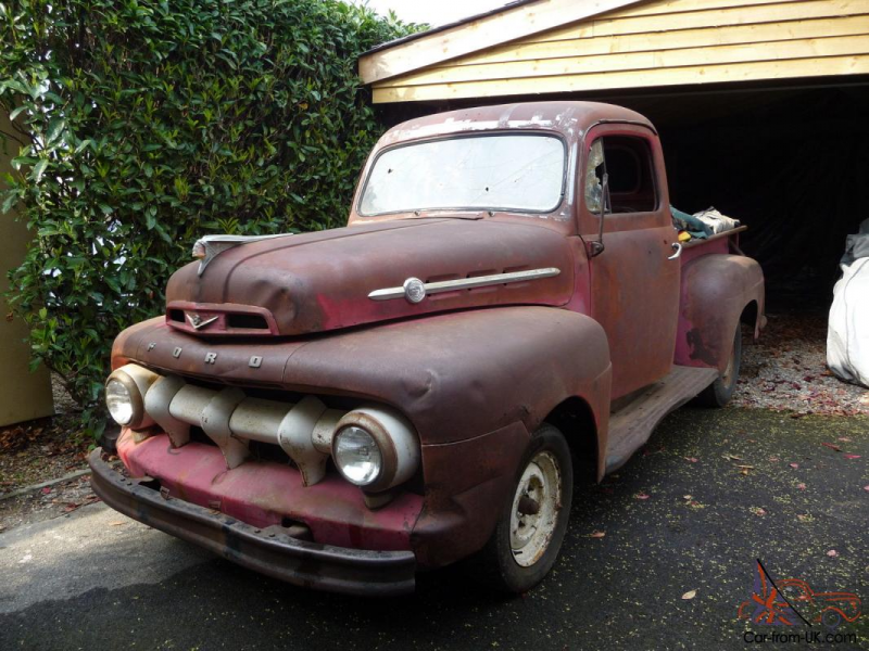 Ford F1 Pickup Truck, 1952 Shark Tooth Front (The rare one) UK ...