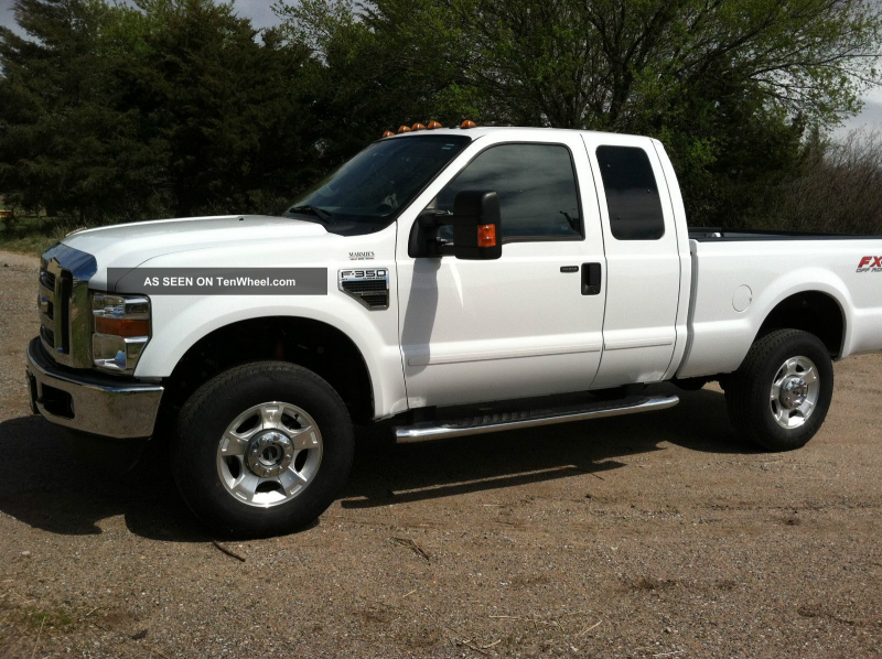 2010 Sd Ford F 350 4x4 Supercab Xlt F-350 photo
