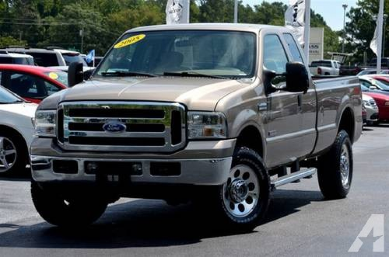 2005 Ford F-350 Super Cab SUPERCAB SRW 4X4 for sale in Morehead City ...