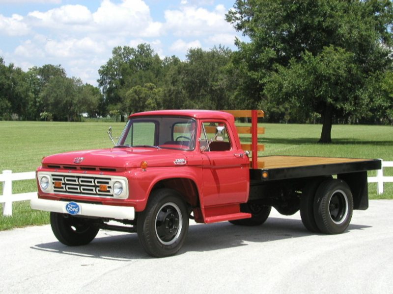 1964 Ford F 500 Flatbed | Flickr - Photo Sharing!