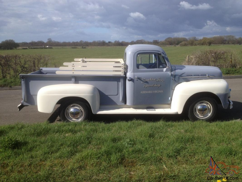 1952 ford f2 pick up first registered 31 3 1952