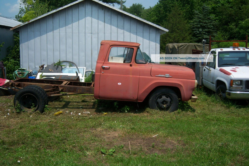 1959 Ford F - 350 Dump Trucks photo