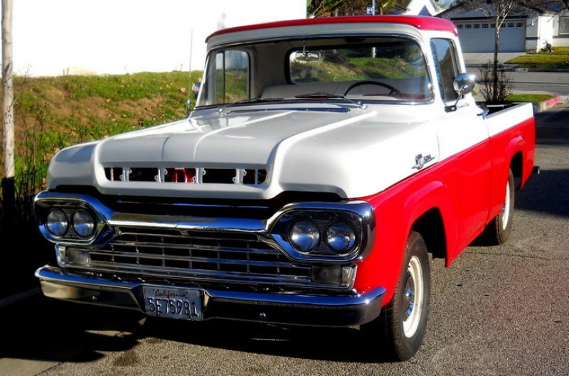 1959 FORD F-350 DELUXE CUSTOM CAB