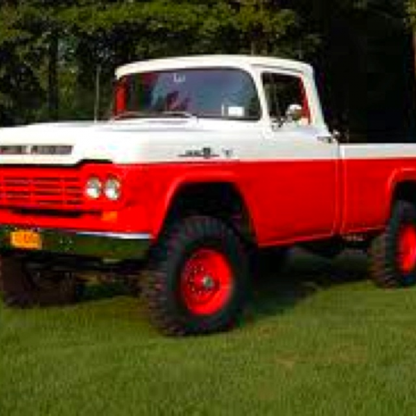 1959 f350 first year ford did a 4x4