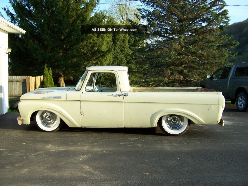 1962 Ford F101unibody Hot Rod Short Box F-100 photo