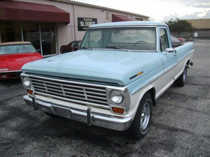 Used 1967 Ford F100 Leatherette Truck, 101,370 Miles