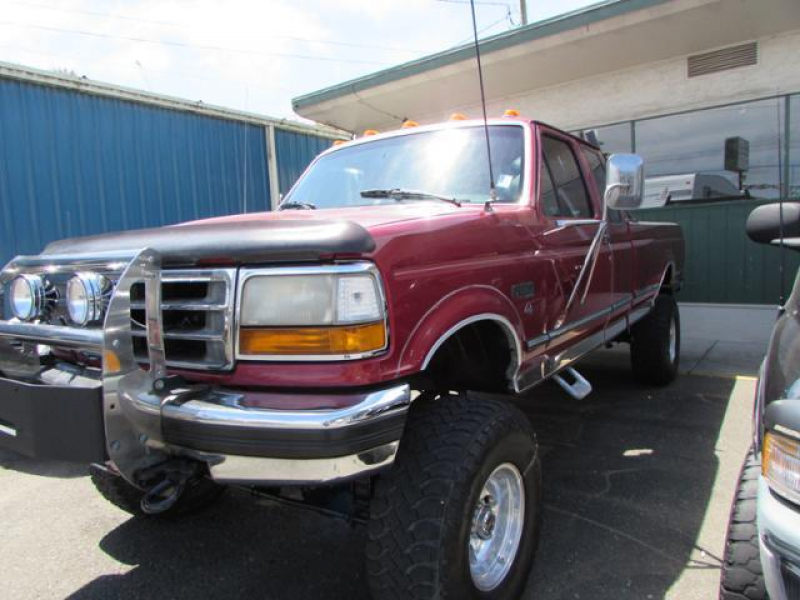 1992 Ford F-250 HD Supercab Styleside 155 WB 4WD - Coos Bay OR