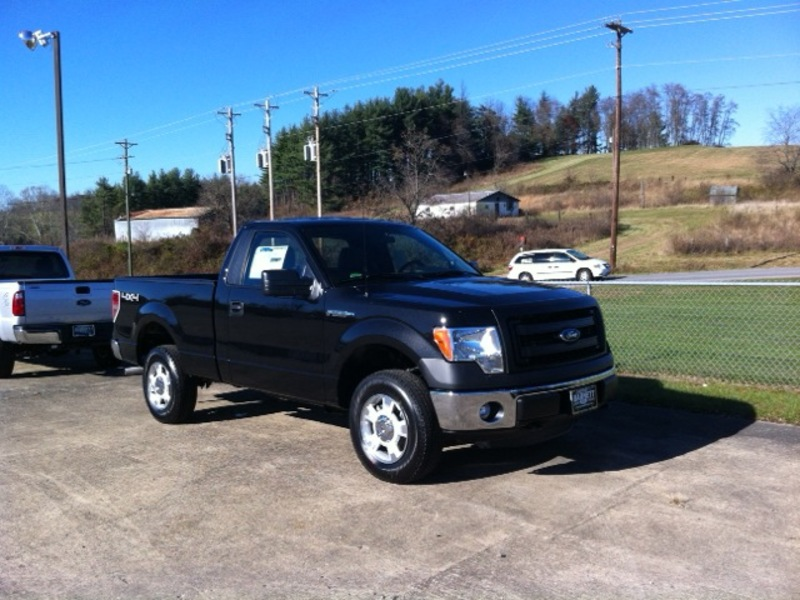 New 2014 Ford F150 Xl Reg Cab Short Bed 4x4
