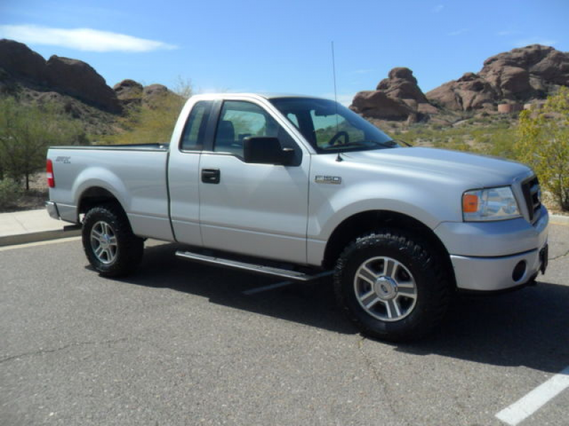 2008 Ford F150 STX 4x4 Regular Cab 4.6L V8 Short Bed Fully Loaded! NO ...