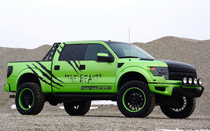 "2014 GeigerCars Ford F-150 SVT Raptor ""The Beast"" - Static - 1 ..."