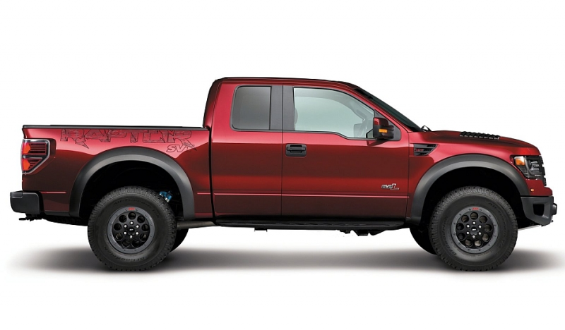 2014 Ford F150 SVT Raptor Special Edition Right Side