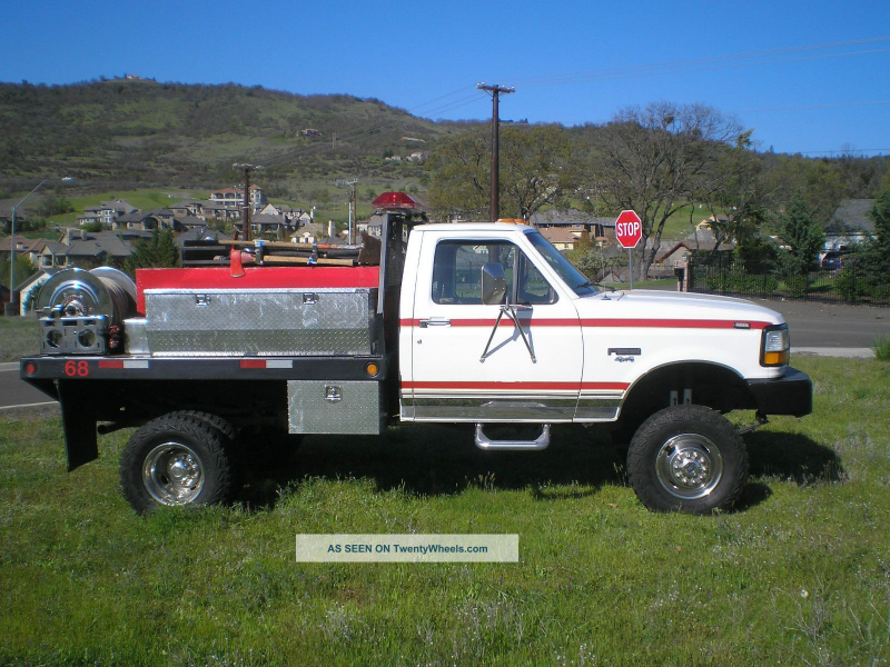 1992 Ford F 350 Emergency & Fire Trucks photo 1