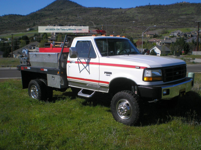 1992 Ford F 350 Emergency & Fire Trucks photo 3