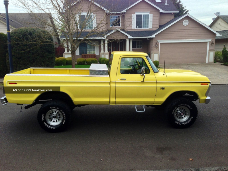 1976 Ford F150 Ranger 4x4 Xlt Longbed 1977 1975 1978 1974 F-150 photo ...