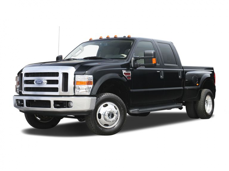 Ford F-350 Lariat crew cab photos: