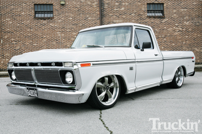 1974 Ford F100 Ranger Bullitt Wheels