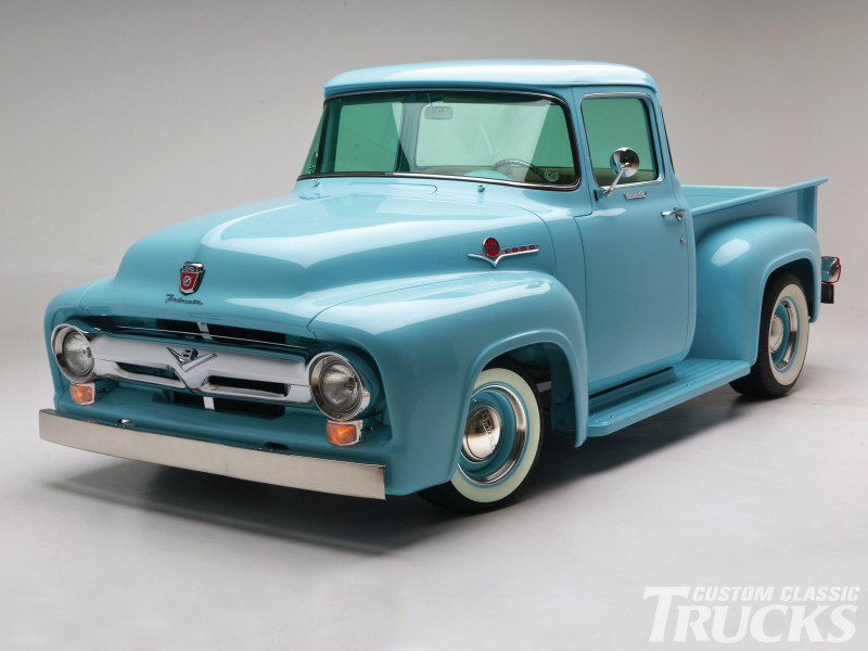 1956 Ford F100 Front