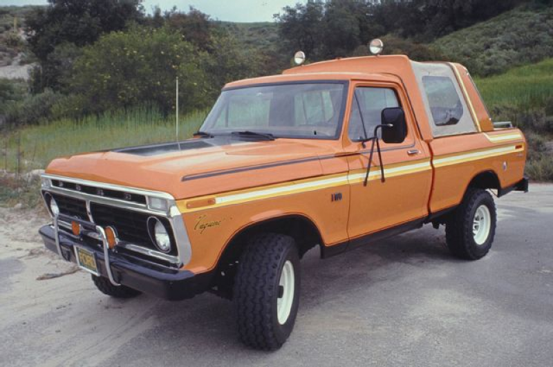 1976 Ford F-100 Vaquero Show Truck - Truck Trend History