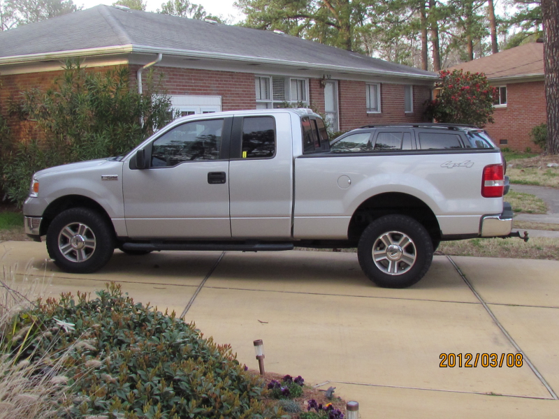 2005 Ford F 150 Xlt Supercab