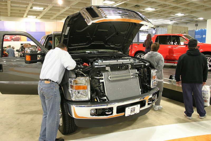 Ford F250 V8 Turbo Diesel