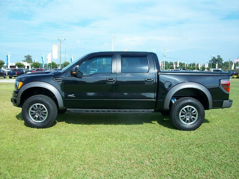 2011-Ford-F150-Raptor-SVT-6-2L-Crew-Cab-4x4-Pickup-Truck-with-22K ...