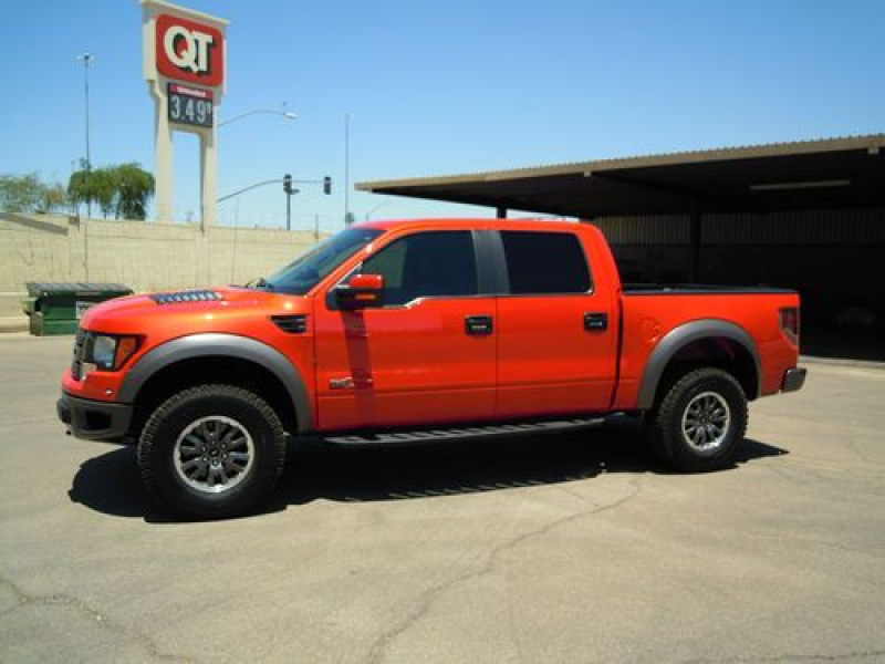 2011 Ford F-150 SVT Raptor Crew Cab Pickup 4-Door 6.2L, US $51,500.00 ...