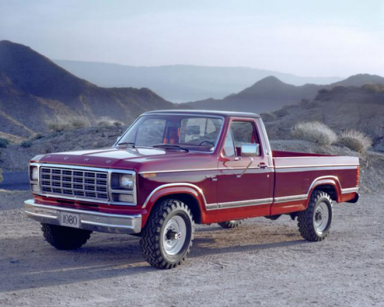 1980 Ford F-250 Pickup Truck - © Ford Motor Co.