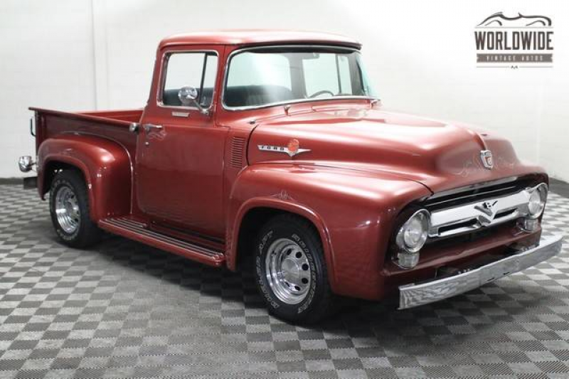 cars 1956 ford f100 pickup truck