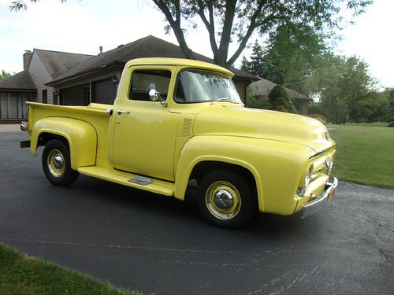 1956 Ford F100 Pickup Truck on 2040cars