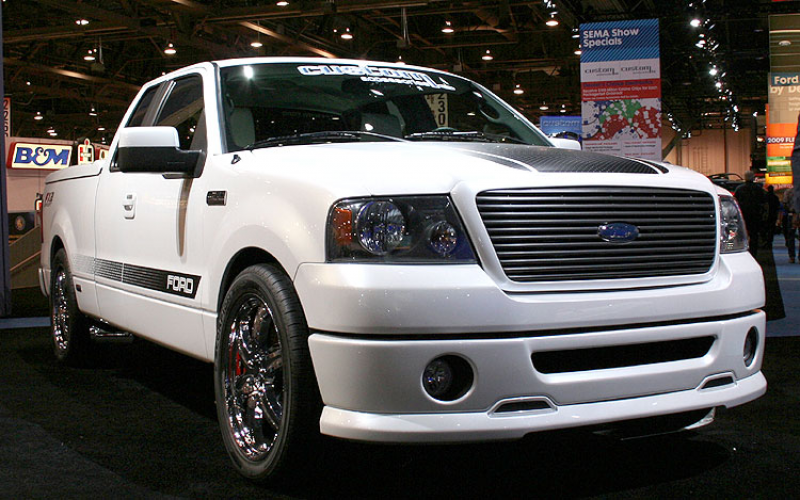 2008 Ford F150 Fx2 Sport By Custom Accessories Front View