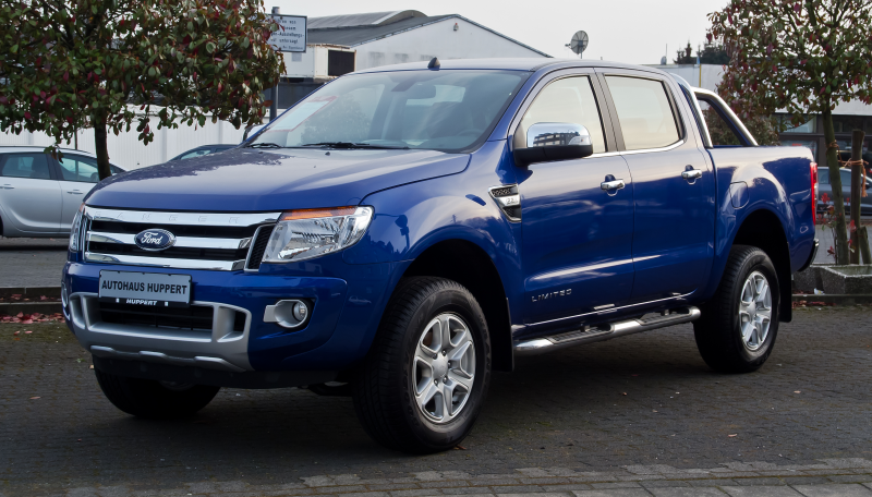 File:Ford Ranger 2.2 TDCi Limited Doppelkabine (III) – Frontansicht ...