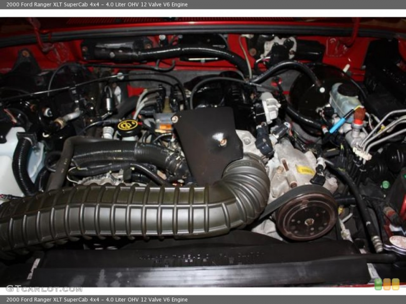 Liter OHV 12 Valve V6 Engine on the 2000 Ford Ranger XLT SuperCab ...