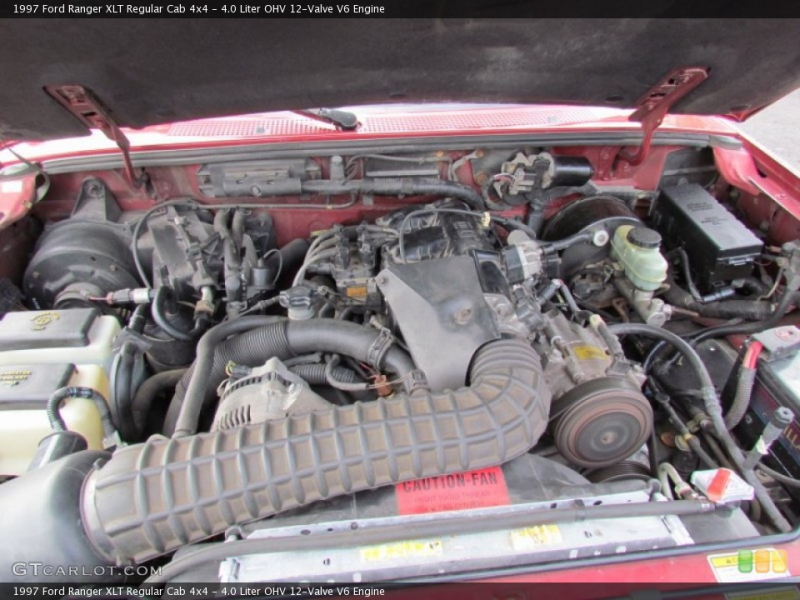 Liter OHV 12-Valve V6 Engine on the 1997 Ford Ranger XL Extended ...