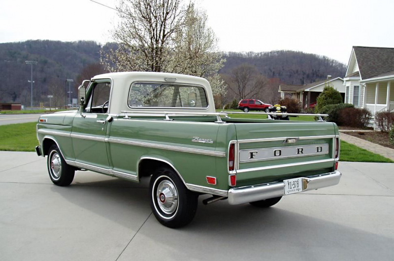 1969 Ford F100 – Field of Dreams