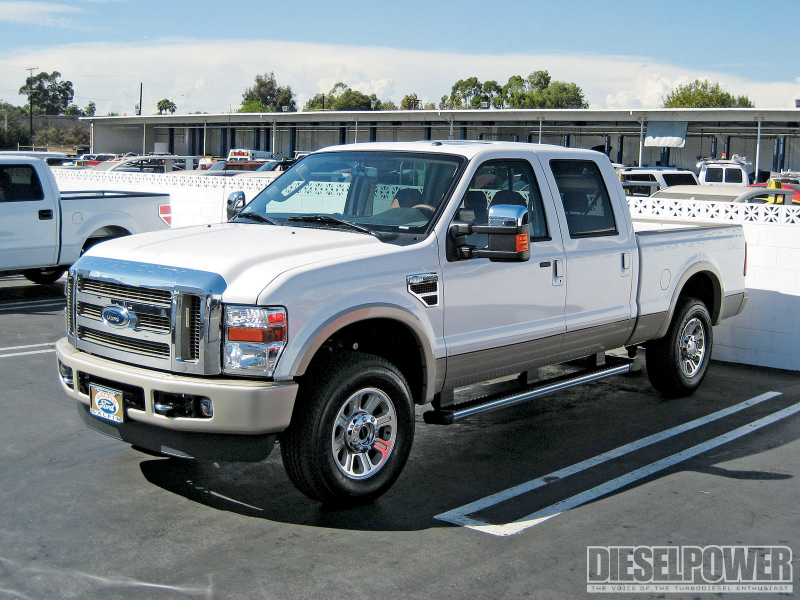 1102Dp 2010 Ford F250 The Perfect Power Stroke Front Three Quarter