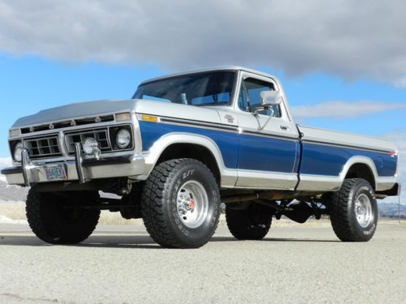 1977 FORD F250 RANGER XLT 4X4 HIGHBOY ORIGINAL WITH AIR CONDITIONING ...