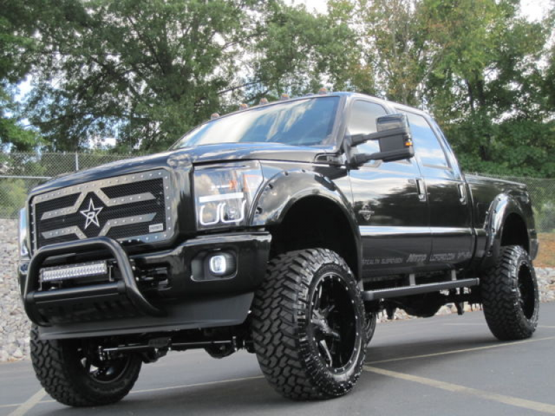FORD F-350 2015 LARIAT 6.7 DIESEL 4WD CUSTOM STEALTH EDITION SERIES A+