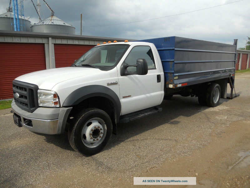 2006 Ford F550 Superduty Xl Financing Available Dump Trucks photo