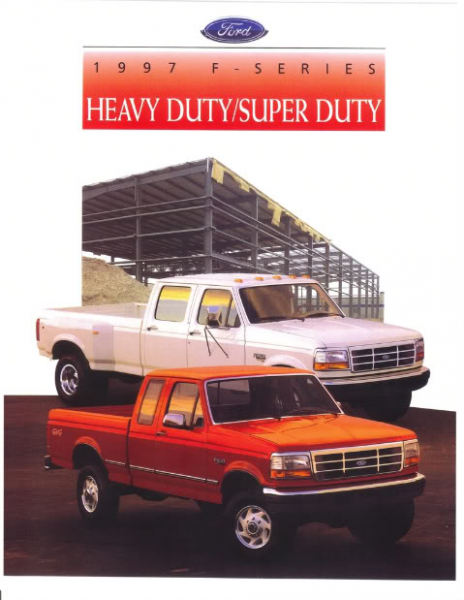 Did Ford not make a superduty truck in 1998? I can't find anything ...
