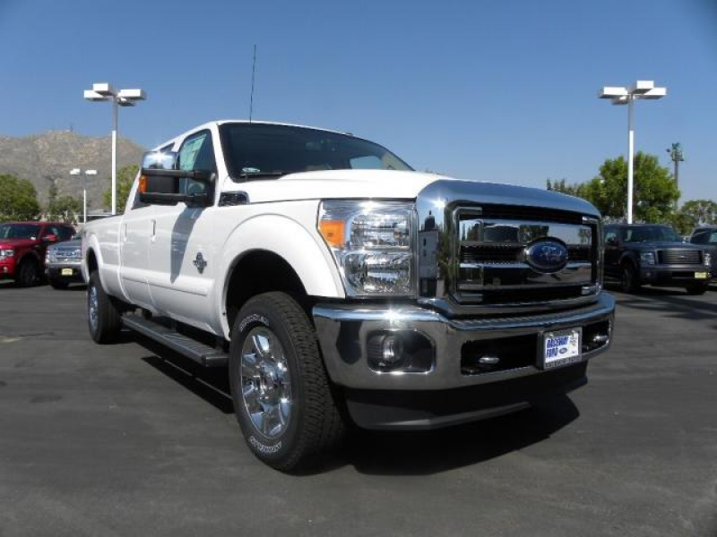 2012 Ford Super Duty F-350 Lariat Pickup Truck