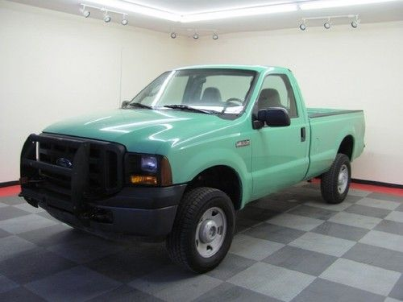 2006 FORD F350 REGULAR CAB 4 WHEEL DRIVE! RARE TRUCK! LOW MILES! USFS ...