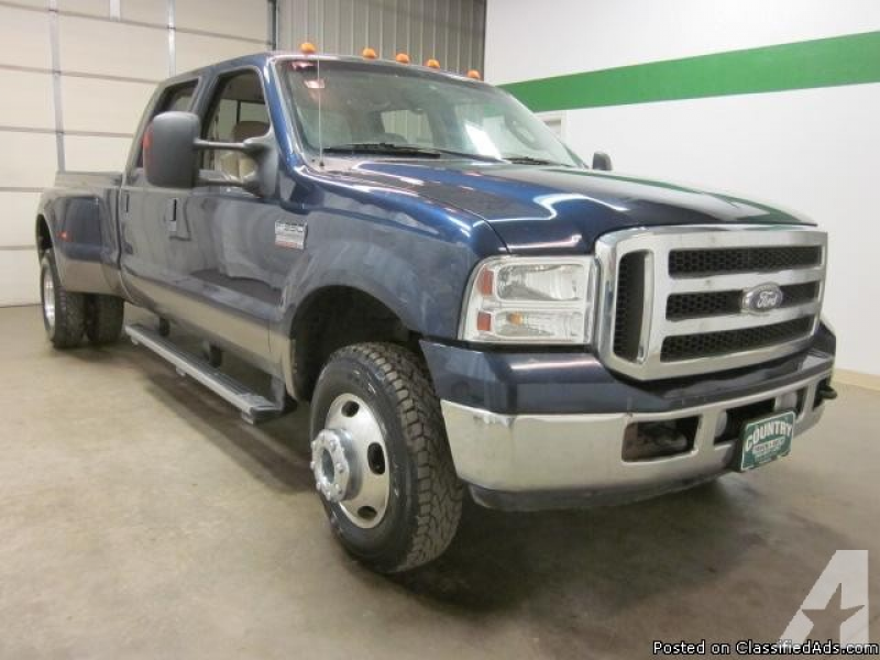 2005 Ford F350 4x4 6.0 Liter Diesel Crew Cab Dually for sale in Fort ...