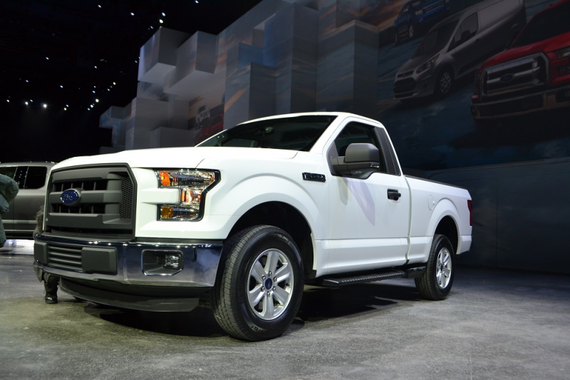 Photo Gallery of the 2015 Ford F-150 Concept