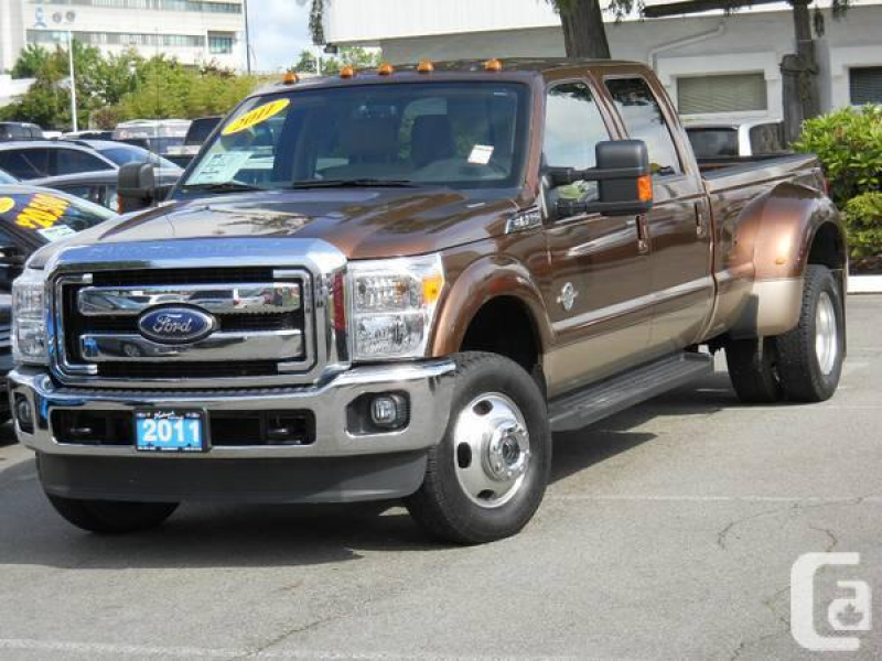 2011 Ford F-350 Lariat Dually 4X4 Crew Diesel, Leather - $49900 in ...