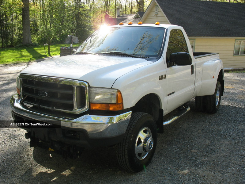 2000 Ford F350 Diesel 4x4 Dually F-350 photo 5