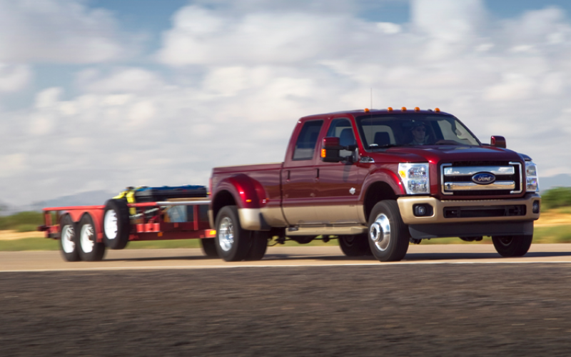 2011 Ford F 350 Drw King Ranch Towing